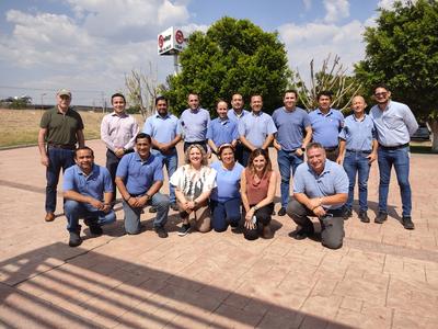 Elay Group Board Members visit the Celay plant