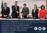 Celay firma convenio de Cátedras con la Universidad de Celaya